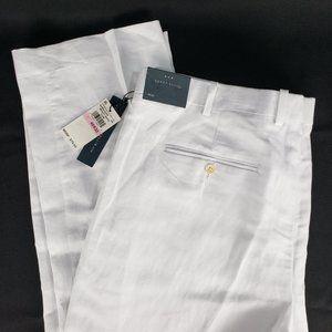Perry Ellis Linen Dress Pants Slack Trousers 41x32